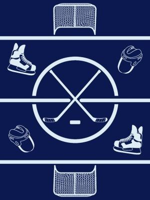 Hockey Power Play Chappy Wrap