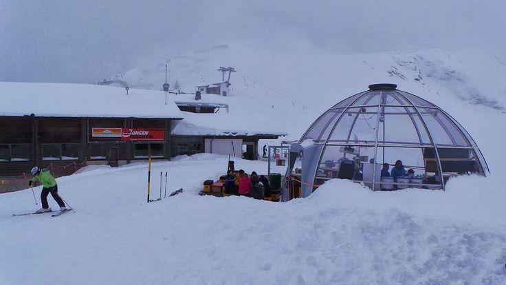 Adelboden e os alpes Tschenten ~ Ela é americana... da América do Sul