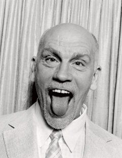 If you don't interfere with me, I'll always do something really good. John Malkovich