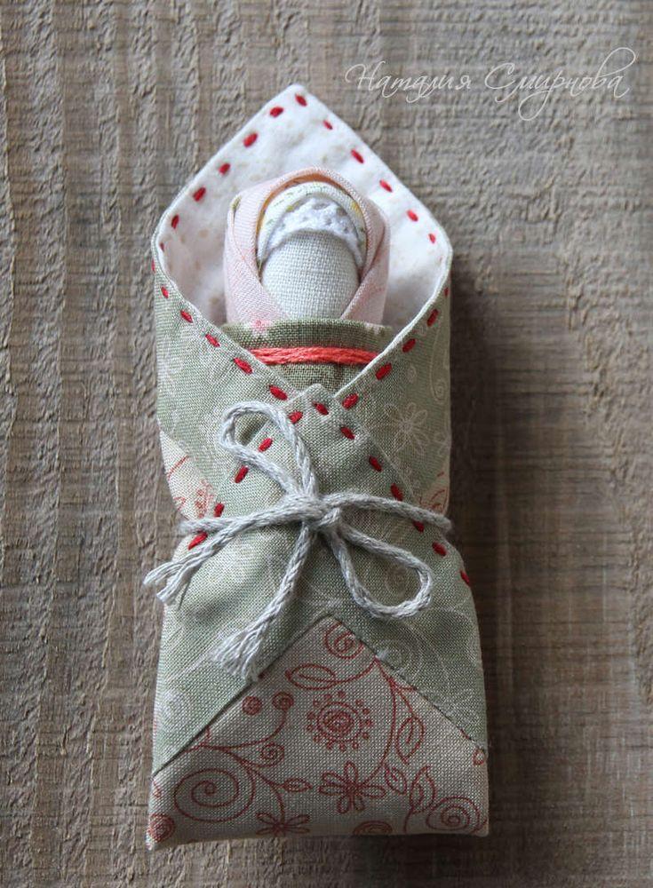Купить Пеленашка - белый, русский стиль, русский сувенир, обережная кукла, тряпичная кукла, Пеленашка