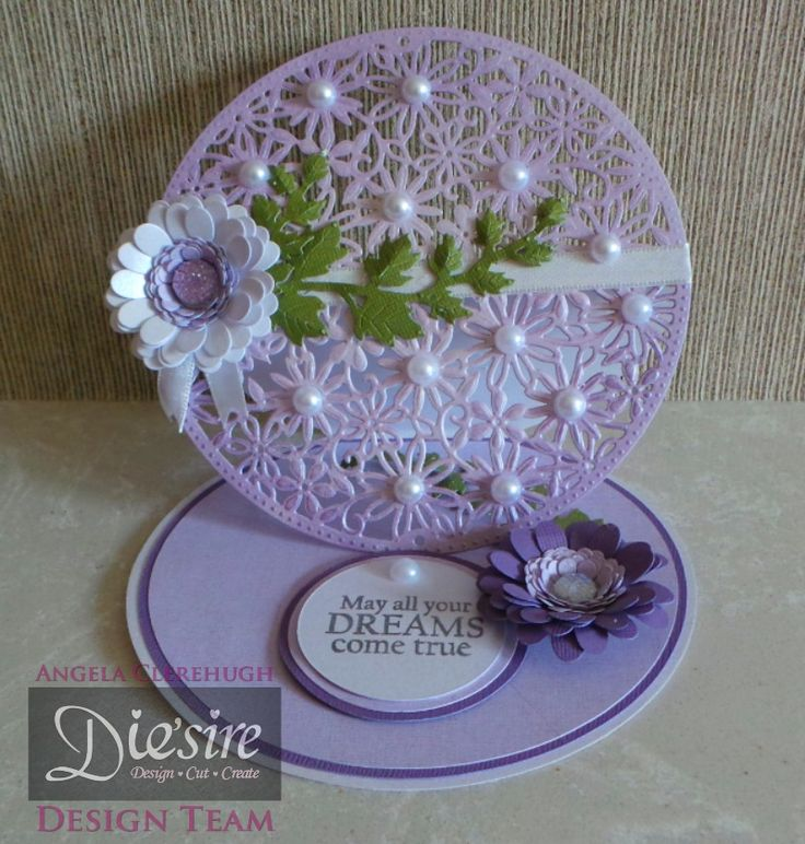 Angela Clerehugh – Create a Card - Easel Card - Die'sire Create A Card Spring Garden – Centura Pearl Double Sided – Collall Tacky Glue - Itsy Bitsy Bloom Quilling Die – Bloom Quilling Die – Stamen Quilling Die – Die'sire Ivy Die – Stamp (free with Magazine) - Distress Ink (Dusty Concord) – Red Tape – Pearls - Ribbon - #crafterscompanion