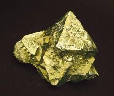 Pyrit - Oktaeder  octahedral pyrite
