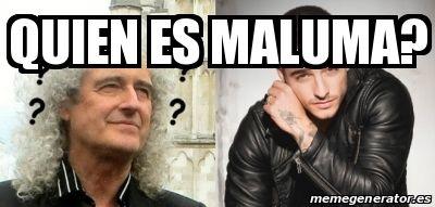 Meme Personalizado - quien es maluma? - 25010737