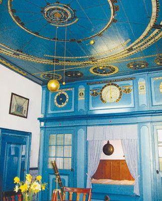Franeker, Netherlands - Eisinga Planetarium (The oldest functioning orrery)   Atlas Obscura