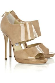 On the wish list: Jimmy Choo: Nude Shoes, Patent Leather, Fashion Shoes, Jimmy Choo, Patentleath Sandals, Leather Sandals, Jimmychoo, Girls Shoes, Choo Private