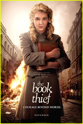 Sophie Nélisse: 'The Book Thief' Poster! ---- AHHHHHHH so excited!!!!