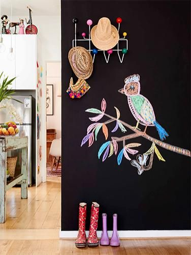 """How To Apply Chalkboard Paint"""