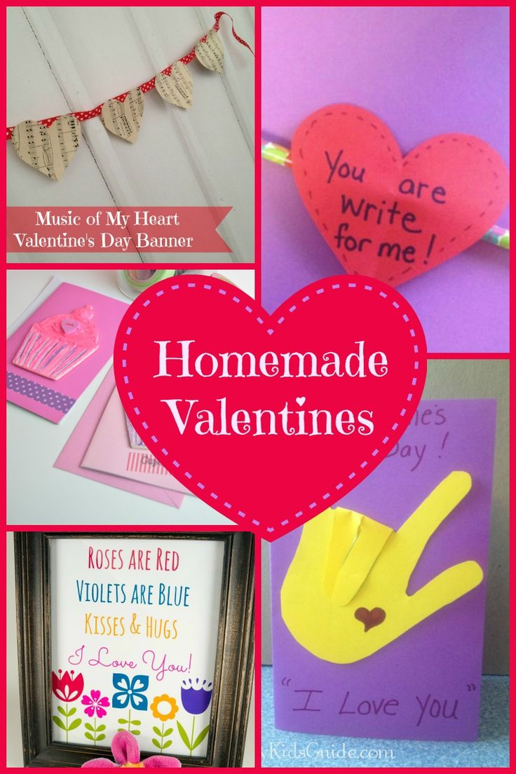 The 25 best Homemade valentines day cards ideas – Homemade Valentines Day Cards Kids
