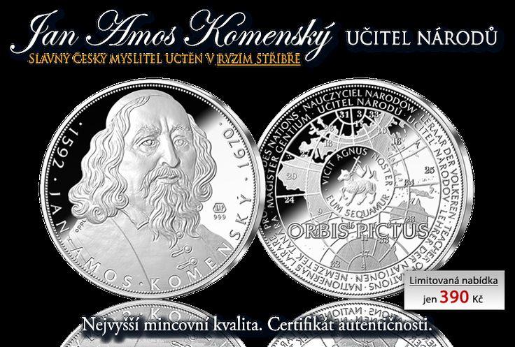 425. výročí narození Jana Amose Komenského