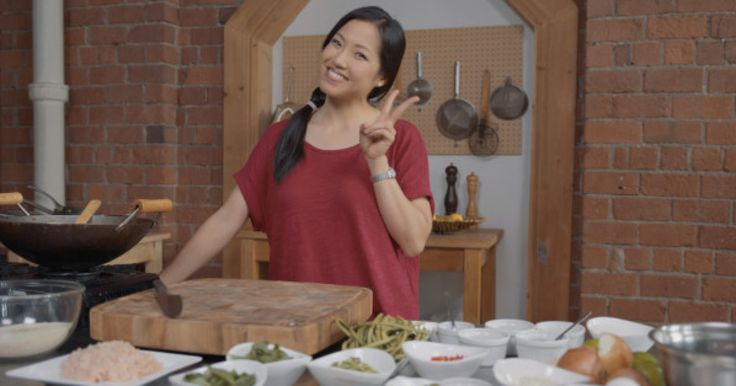 If Thai food is your takeout guilty pleasure, let Pailin Chongchitnant show you how to do it yourself at home.  Kao Pad Gaprao Gai Kai Dao is a mouthful to say, but it will definitely make your mouth...