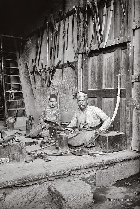 Sword Maker: Damascus, Syria 1900-1920