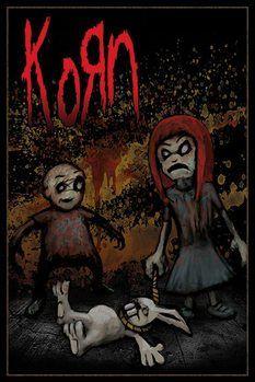 Póster KORN - dead bunny