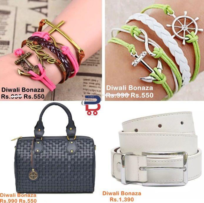 Buy special diwali gifts online from your Favourite online store - Beltkart #Bracelet #LeatherHandbags #GirlsBelt #Diwaligift #Girlsgifts http://www.beltkart.com/gift/gift-for-girls