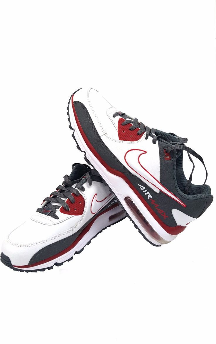 new arrival 472dc a0f8d ... Nike Air Max Wright White Grey Red ...