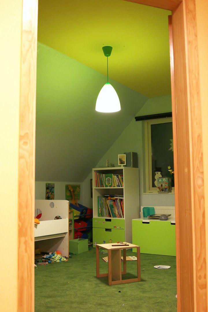 neue gr ne lampe f r das kinderzimmer experiment leben ohne licht lumizil pinterest. Black Bedroom Furniture Sets. Home Design Ideas