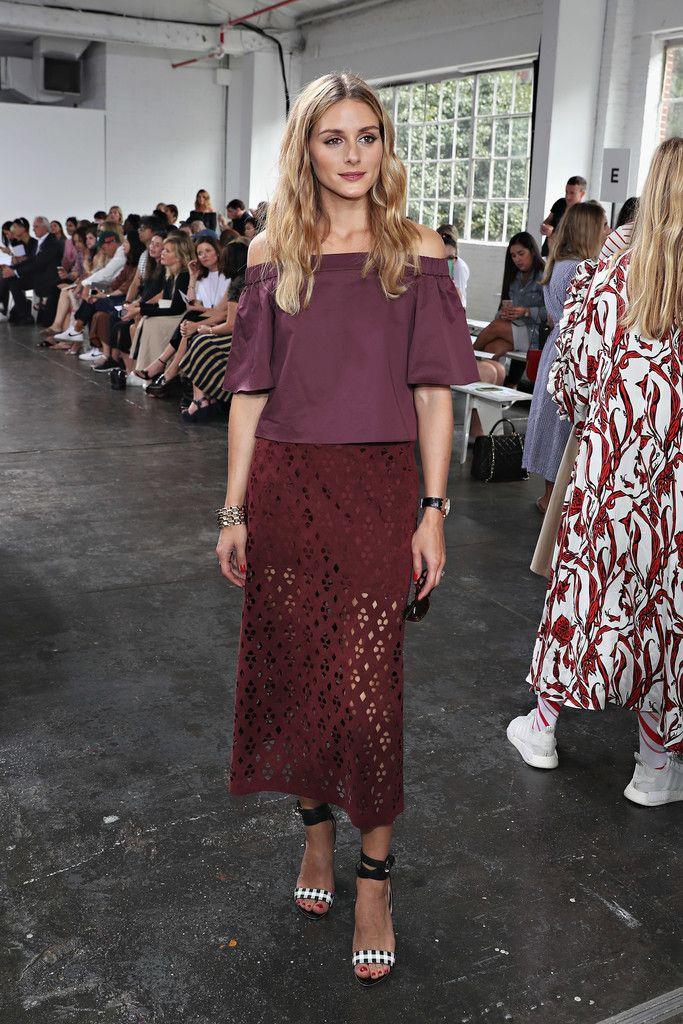 Olivia Palermo Photos Photos - Tibi - Front Row - September 2016 - New York…
