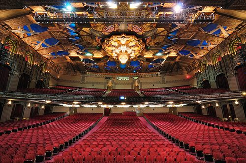 Pantages Theater in Toronto, Canada. Phantom of the Opera.