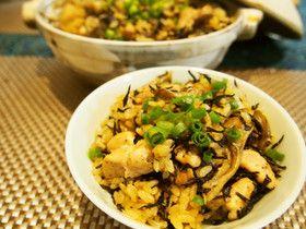 簡単!土鍋で中華風炊き込みご飯!