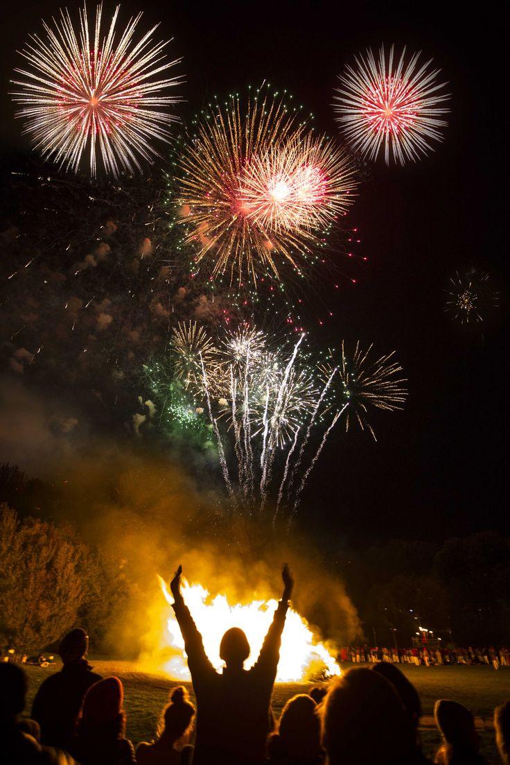 Lewes Bonfire night