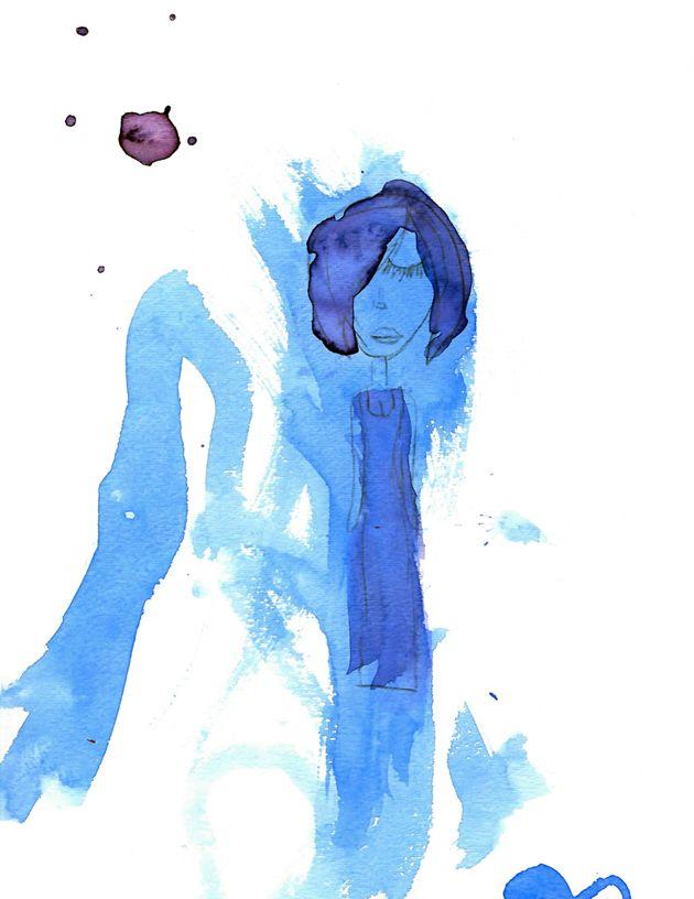 Ro — Blue woman — TUTA & COCO