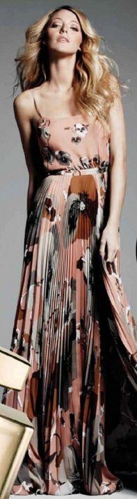 Blake L: Maxi Dresses, Floral Prints, Gowns Bl, Pleated Maxi, Blake Living, Prints Gowns, Gucci Dresses, The Dresses