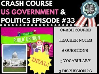 Public Opinion: Crash Course Government and Politics #33 Here is what is…