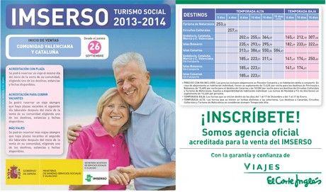 el corte ingles viajes imserso mayores 60 turismo social 2013 2014. http://www.potenciatueconomia.com/varios/hazlo-tu-mismo/el-corte-ingles-viajes-imserso-para-mayores-de-60-anos-turismo-social-2013-2014-turismo-de-naturaleza-circuitos-culturales-andalucia-cataluna-murcia-y-comunidad-valenciana-islas-baleares-islas/