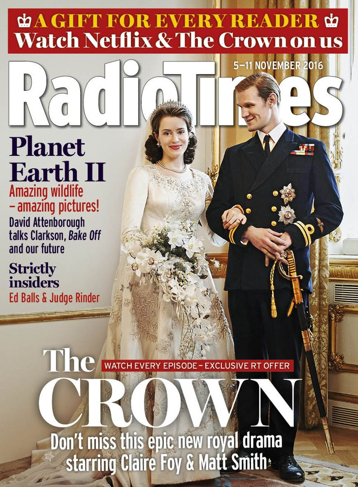 The Crown's Claire Foy and Matt Smith - plus a great Netflix gift subscription for all readers inside this week's Radio Times