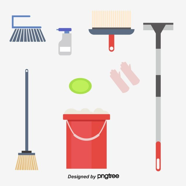 English Vector And Cleaning Materials English Cleaning Supplies Cartoon Cleaning Supplies Png Transparent Clipart Image And Psd File For Free Download Cleaning Cleaning Materials Vector