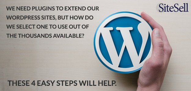 How to Identify Good #WordPress Plugins in 4 Easy Steps