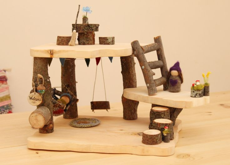 This Mini Tree House Set Perfect For Your Fairy Or Gnome Loving Little One!  It
