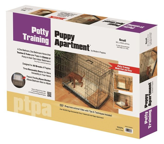 The Potty Training Puppy Apartment -- Great for potty training, elderly dogs, as an alternative to going outside and inclement weather, when you can't make it home to let your dog out, traveling etc.