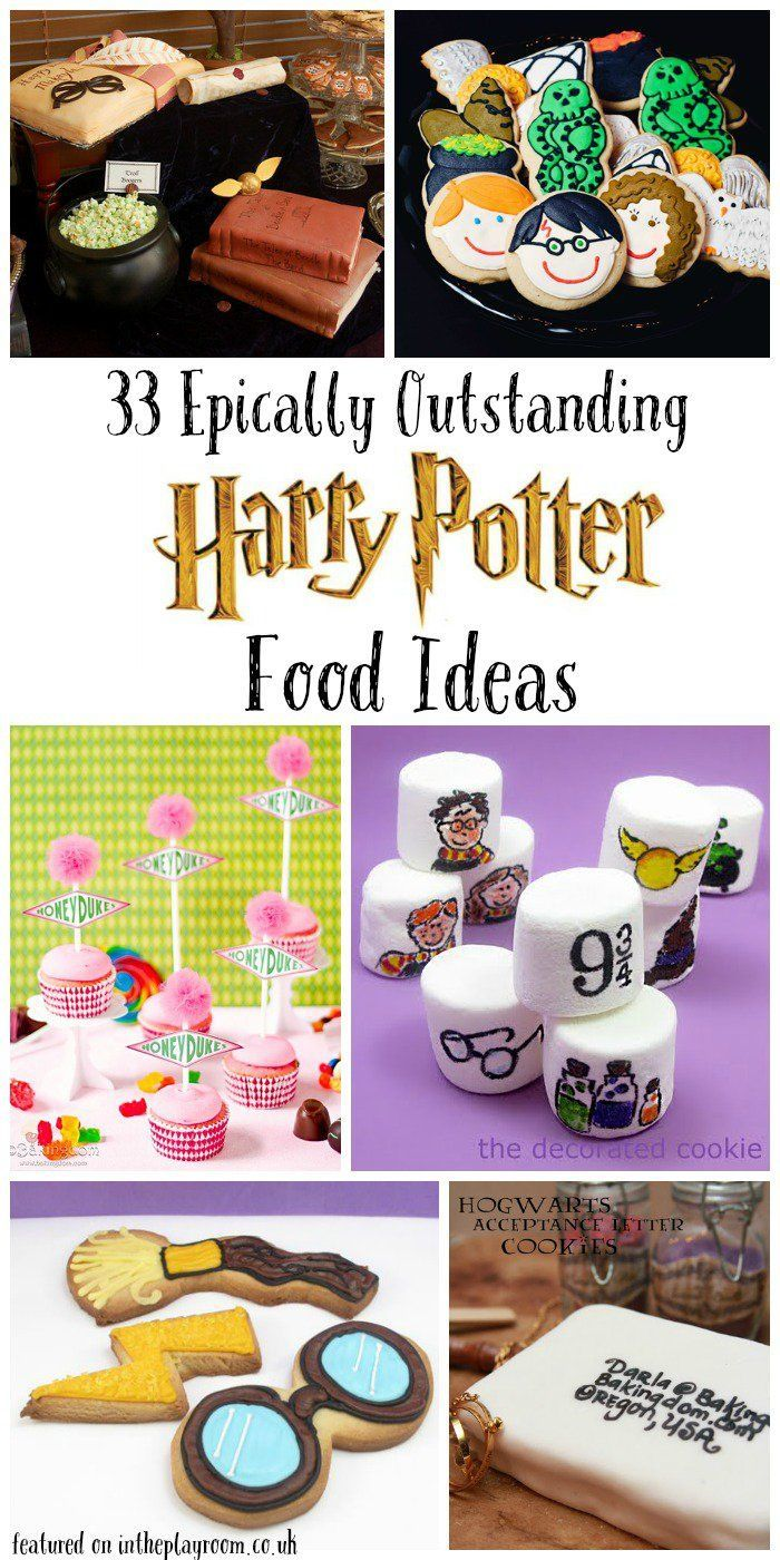 33 Epically Outstanding Harry Potter Food Ideas