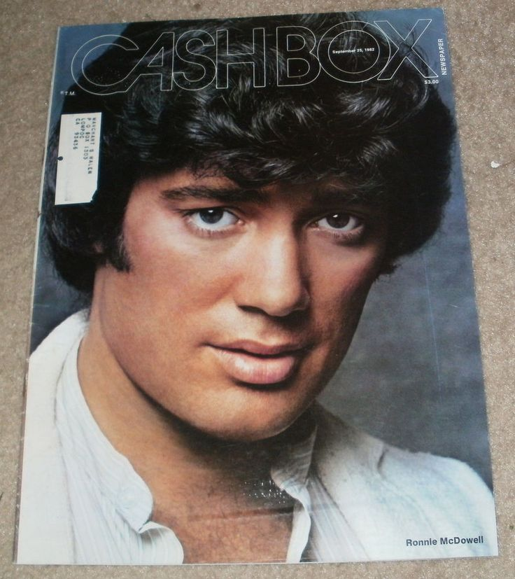 Cashbox Magazine Ronnie Mcdowell September 25 1982