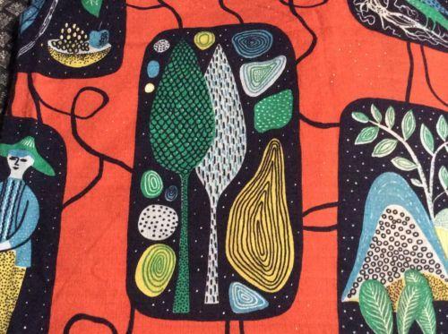 Vintage-1950s-Walter-Matysiak-Stig-Lindberg-style-curtain-fabric