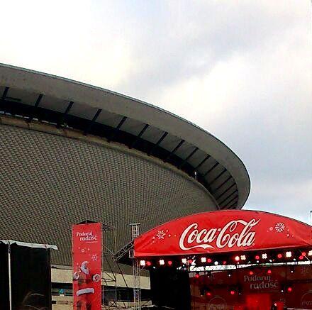 Trochę Spodka i trochę Coca-Coli. :) | Katowice (Silesia Voivodeship), Poland