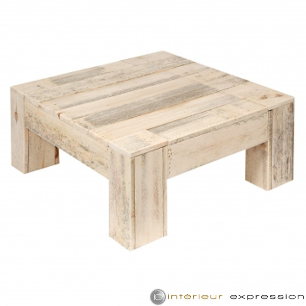 """""""Futee"""" wood recycled for this coffee table"""