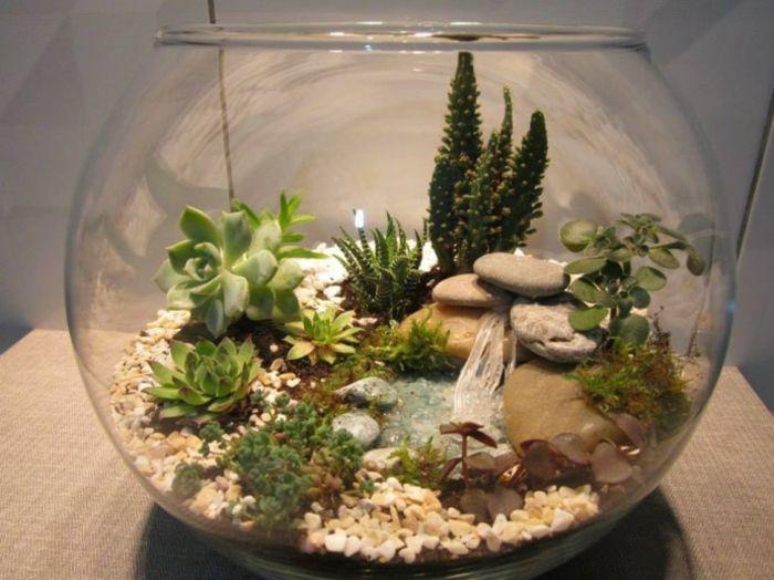Terrarium Plantes Grasses 40 Superbes Idees En Photos