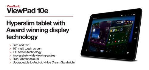 ViewPad 10e online banner 990 x 467 pixels