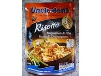 Uncle Bens Risotto Hühnchen und Pilze #Ciao