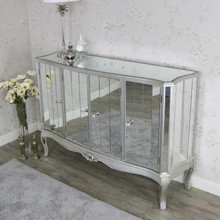 Tiffany Range - Large mirrored sideboard