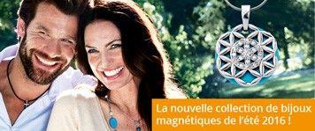 Les bijoux magnétiques de Magnetix Wellness GmbH envoûtent par leur beauté et leur force.