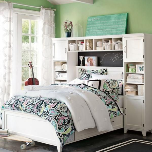 19 best teenage girl bedrooms decor images on pinterest | teenage