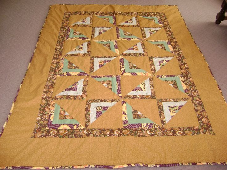 less is more quilt