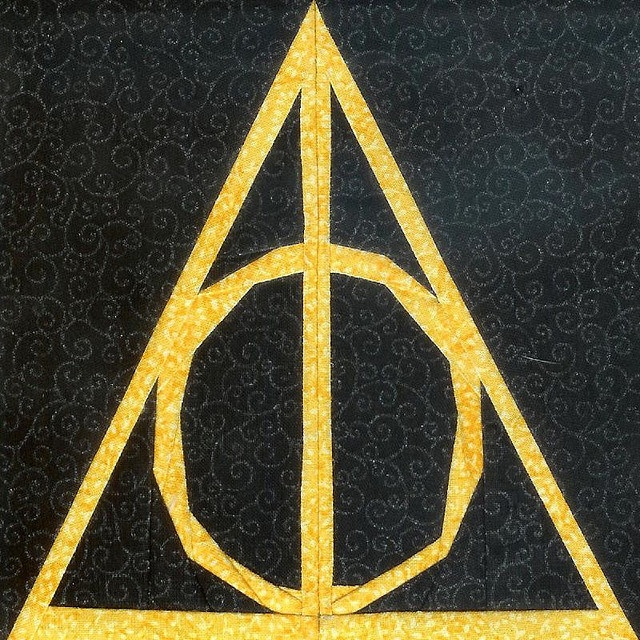Deathly Hallows Symbol | Harry Potter | Pinterest