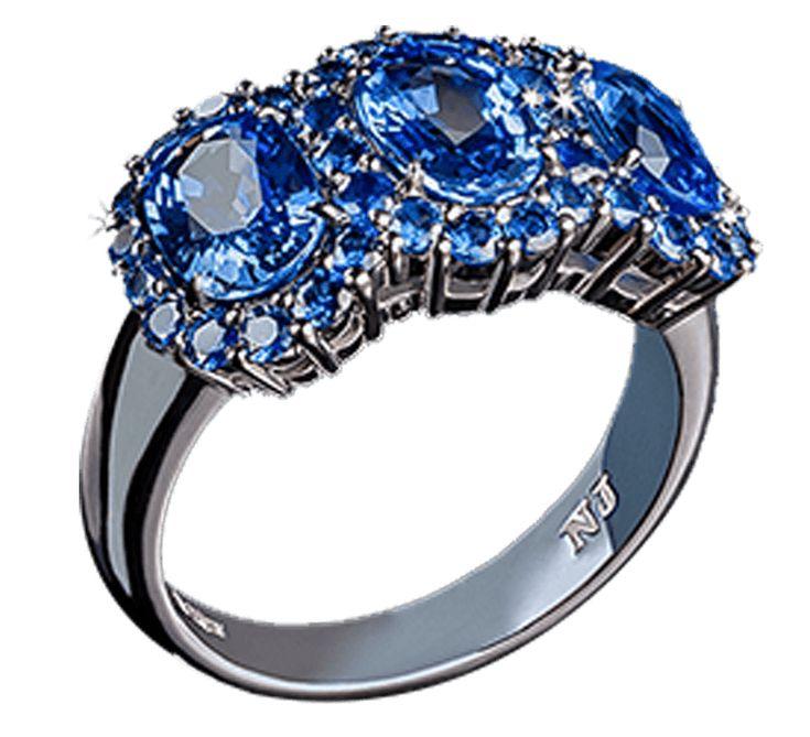 Ювелирное украшение, которое станет лучшим в Вашей коллекции. Роскошное кольцо из белого золота прекрасного дизайна. Драгоценные камни небесного цвета олицетворяют мечты, которым суждено сбываться. Предлагаем Вашему вниманию другие украшения ювелирного бренда Nico Juliany.