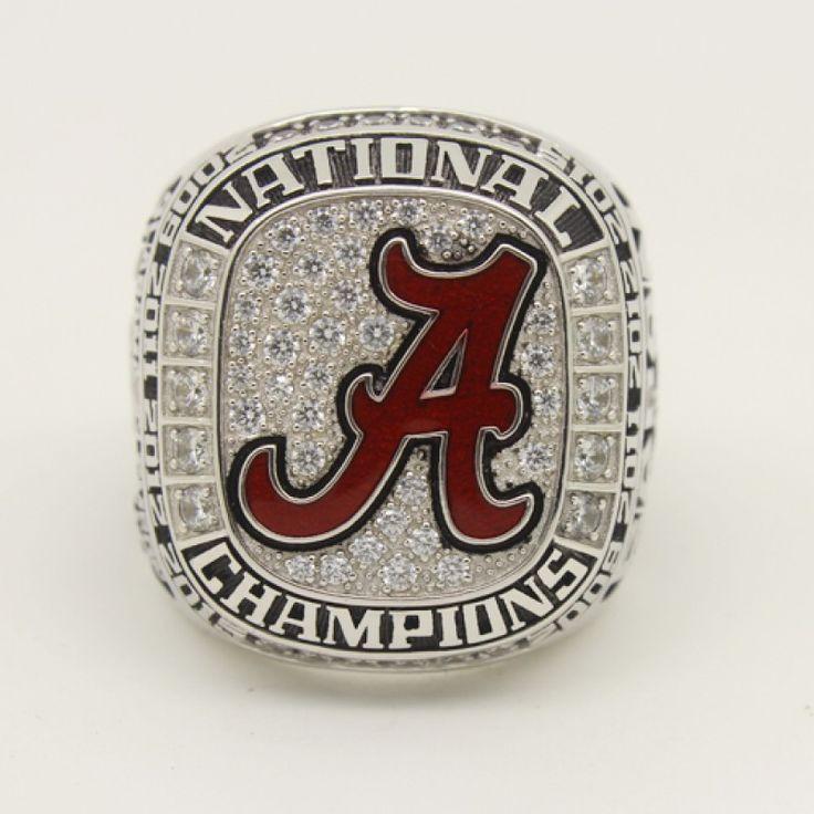 #rolltide #alabama #sec #lsu #fsu #cfb #vfl #ugafootball #gbo #cfpbound #govols #vols Custom 2015 Alabama Crimson Tide National Champion Fan Ring,