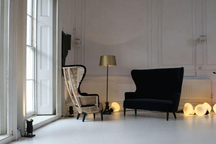 Tom Dixon Sofa Interiors Design - Tom dixon wingback chair