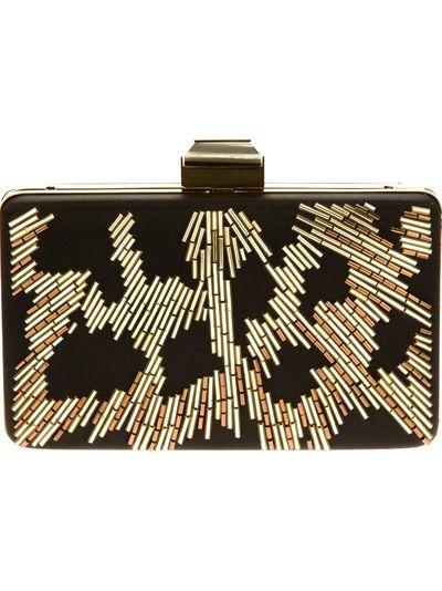 LANVIN - box clutch just $2157.57 ...
