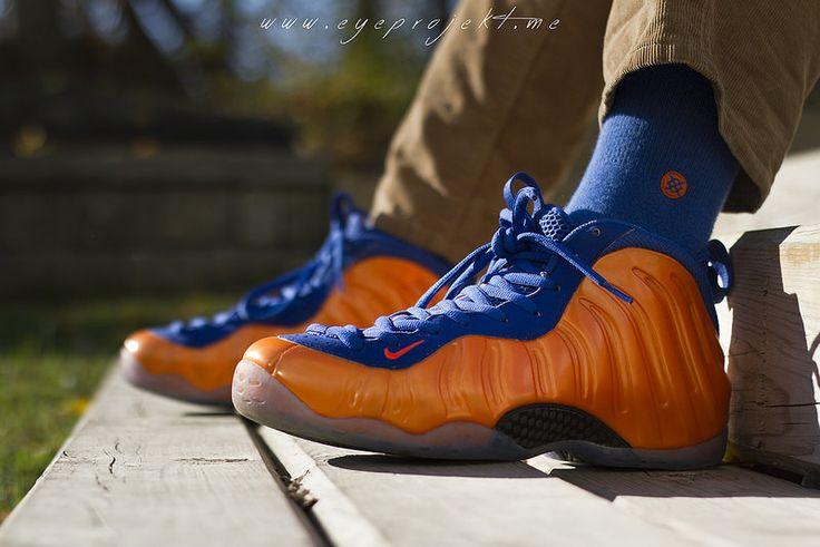 Nike Air Foamposite Knicks